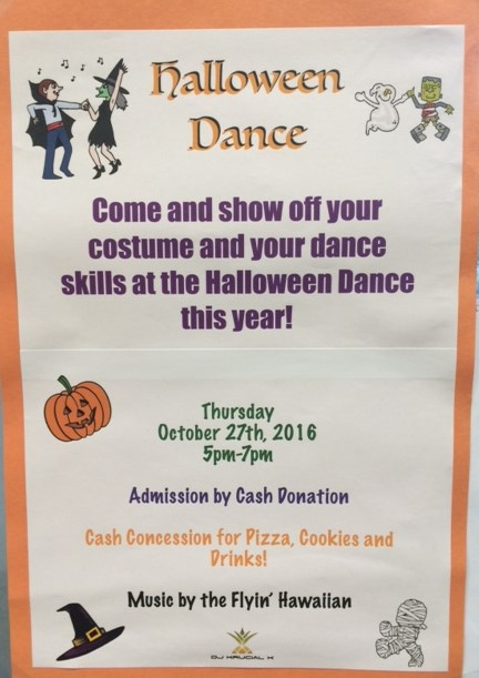SLE Halloween Dance