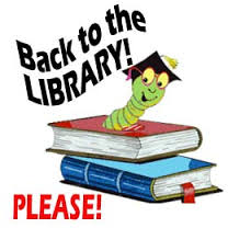 Library books due back Fri. June 10th