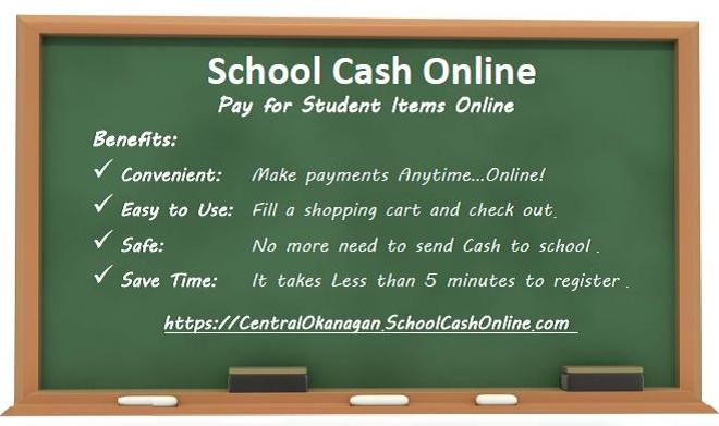 School Fees are now due